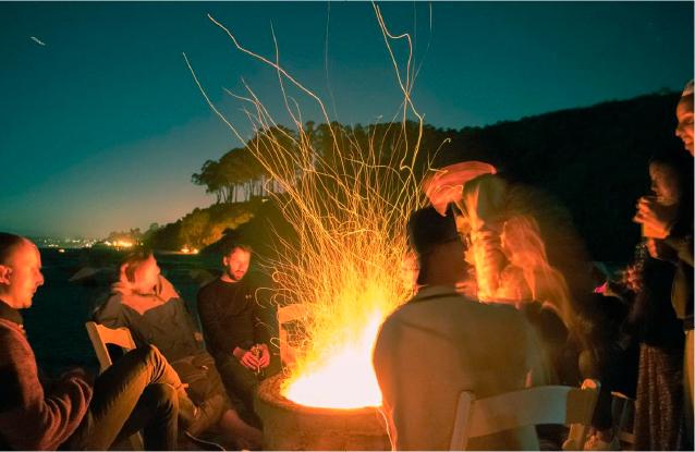 Group Bonfire