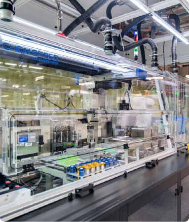 Strateos Platform automated chemical synthesis
