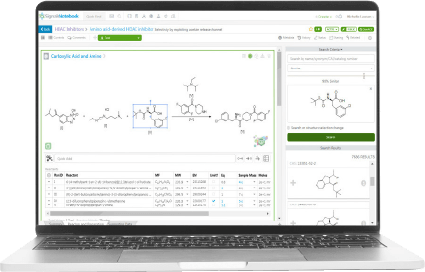 Chemist designs reaction of interest in ELN and pushes it to the Strateos Platform